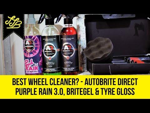 *BEST* Wheel Cleaning? AutoBrite Direct - Purple Rain 3.0, Britegel & Tyre Shine - Review