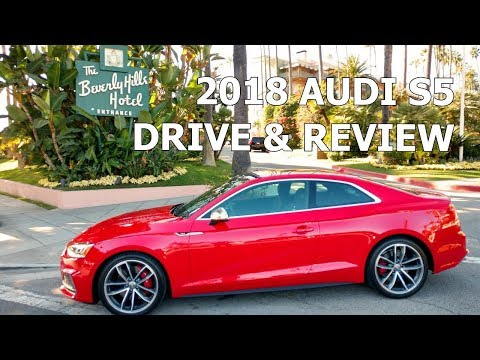 2018 AUDI S5 COUPE - First Drive and Full Review