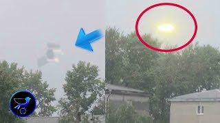 Incredible UFO spotted in the sky over Russia! Aug 18,2019