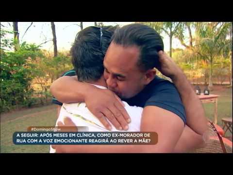 Geraldo promove reencontro entre ex-morador de rua já reabilitado e amigos da banda