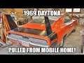 1969 Daytona pulled from Mobile Home!  And a Hemi Cuda!