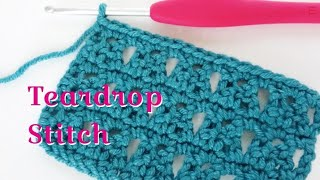 In this tutorial I show you my newly 'invented' stitch, which I have named the Teardrop Stitch. I use the term invented loosely as I am sure this stitch has been ...
