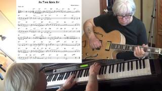 As Time Goes By - Jazz guitar & piano cover ( Herman Hupfeld ) Yvan Jacques