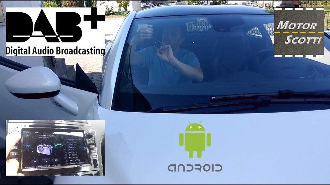 Digital Car Stereo Radio Aerial Antenna Kenwood An Dab1 Glass Mount Smb Dab