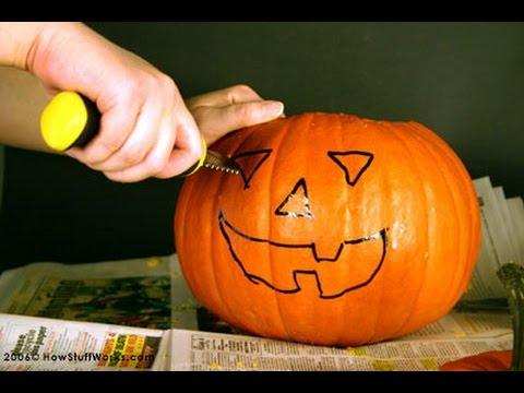 How To Carve A Pumpkin Step By Step Instructions Youtube