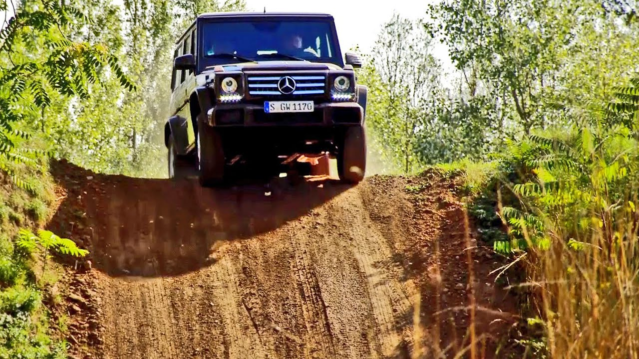 Mercedes G-Class (2016) G500 Off-Road Test - YouTube