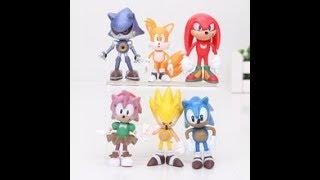 Обзор фигурки героев из Серии игр Sonic Mania