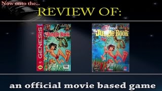 Movies to Video Games Review - Disney's the Jungle Book (GEN/PC)