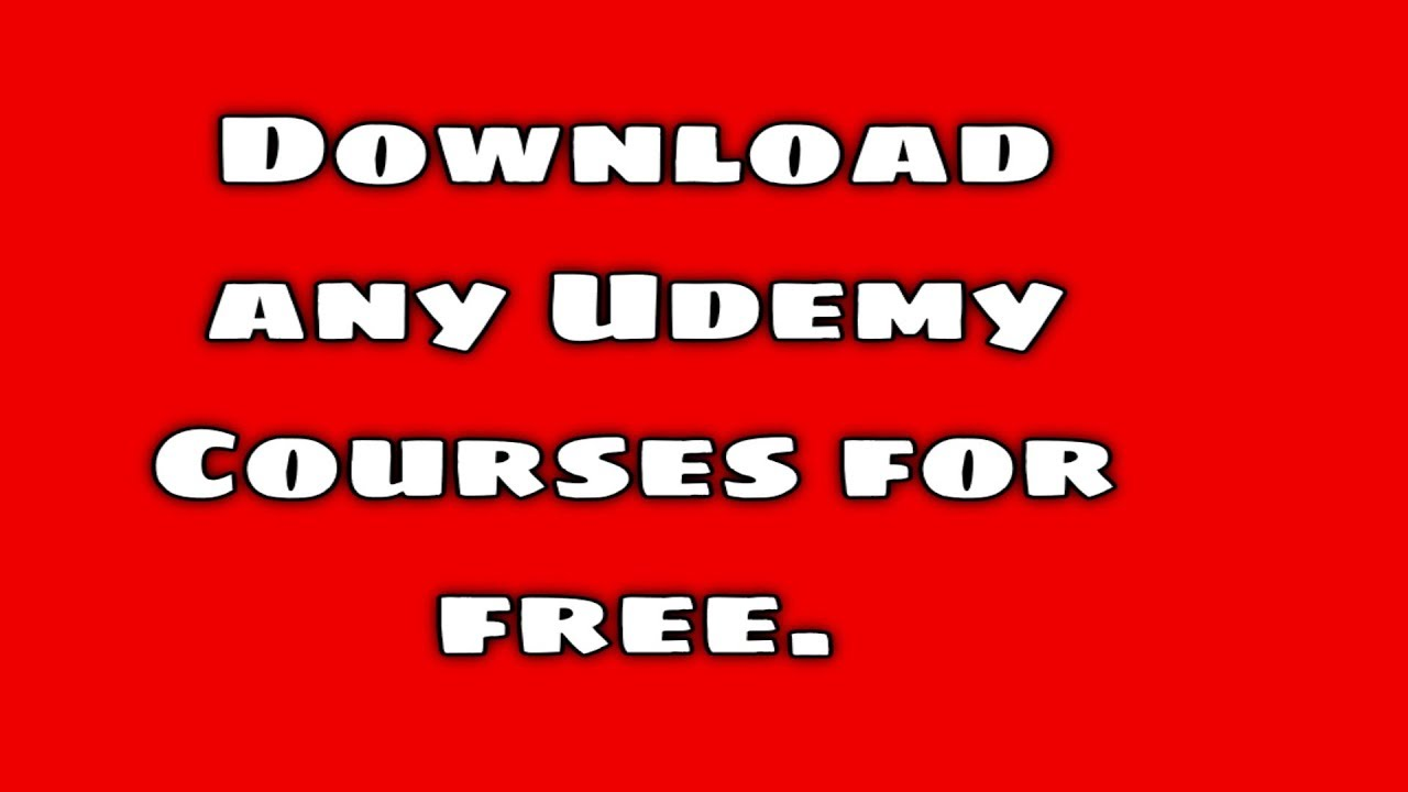 How to download Udemy courses for free | Freetutorials us