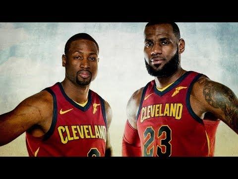 LeBron James and Dwyane Wade Mix -