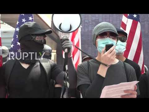 Hong Kong: Protesters call on US to pass law protecting Hongkongers&39; rights