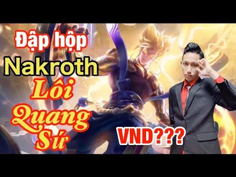 Đốt 3k Quân Huy Săn Ngay Skin Hữu Hạn Nakroth Lôi Quang Sứ. Siêu Phẩm Không Thể Bỏ Qua.