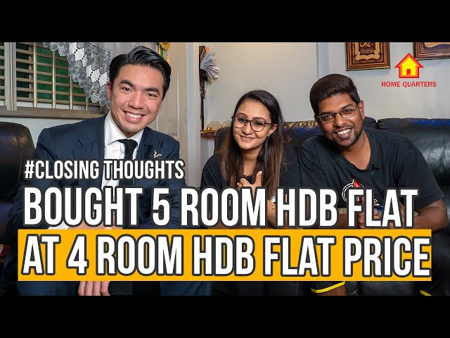 Bought 5 Room HDB Flat at 4 Room HDB Flat PRICE!! | Closing Thoughts Ep5