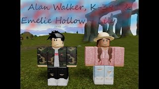 ROBLOX MUSIC VIDEO || Alan Walker, K-391 & Emelie Hollow - Lily