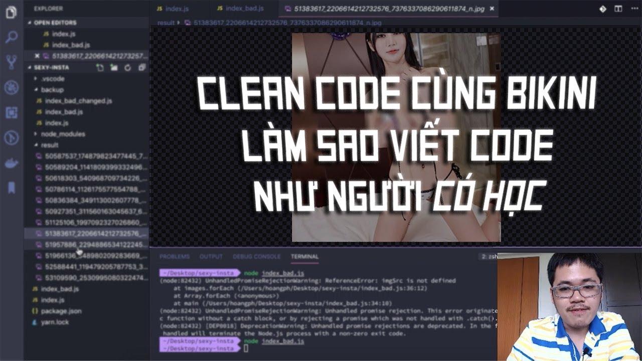 """Code Cùng Code Dạo – Thế nào là Clean Code – Làm sao viết code clean như người """"có học"""""""
