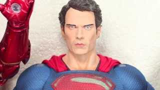 Man Of Steel NECA Superman 1/4 Scale Collectible Movie Figure Review