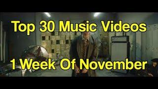 Top Songs Of November 2017: Week 1