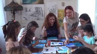Открытый урок по Рисованию-1 группа