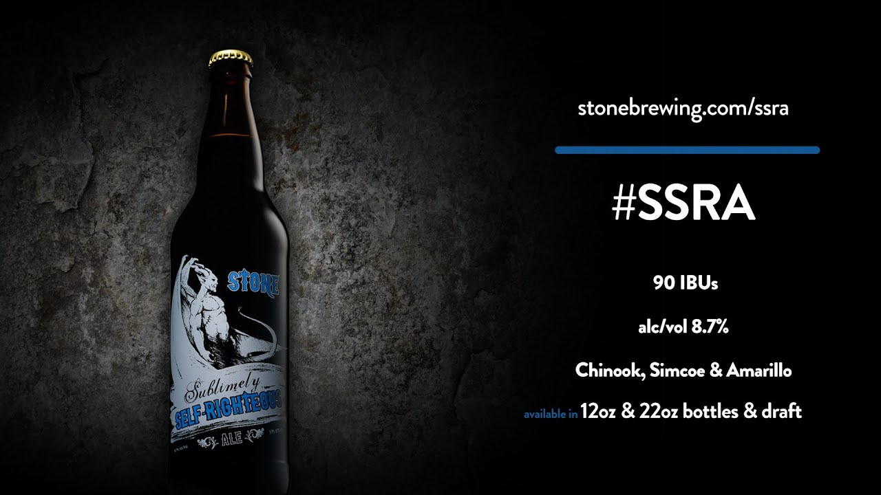 Stone Sublimely Self-Righteous Black IPA | Stone Brewing