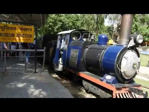 Toy Train at National Rail Museum Delhi Chanakyapuri
