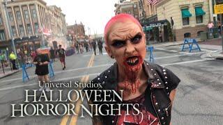 Vamp 85 | Revenge of Chucky | Halloween Horror Nights 28 | Scare Zones
