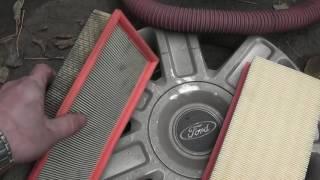 Замена воздушного фильтра двигателя Ford Mondeo