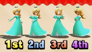 Mario Party Series Minigames - Princess Battle (Master Difficulty)