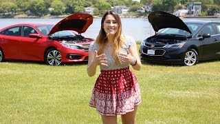 2016 Honda Civic vs. 2016 Chevy Cruze Comparison | Herb Chambers Honda