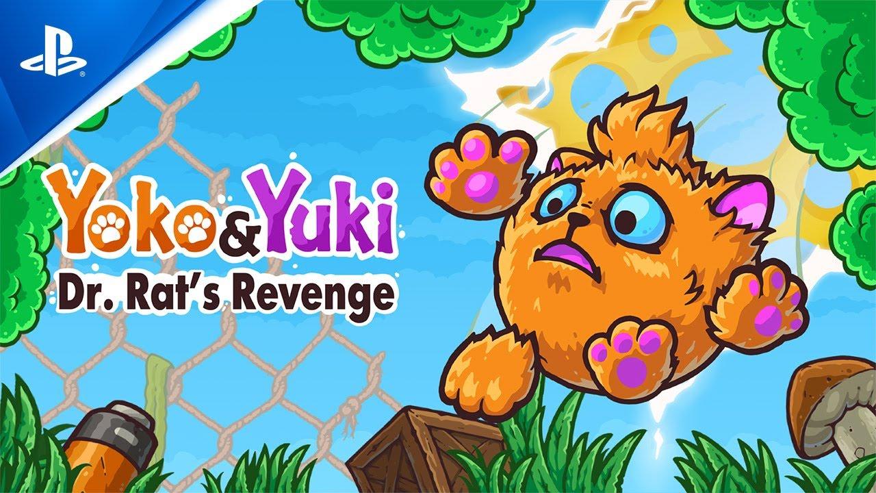 Yoko & Yuki: Dr. Rat's Revenge - Release Trailer | PS4
