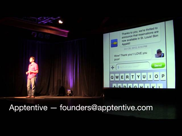 Post for video 'Apptentive at TechStars Seattle's 2012 Demo Day