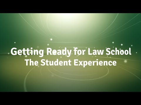 Stetson Law Live: Getting Ready for Law School - The Student Experience (2017)