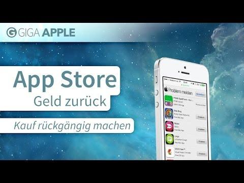 ITunes App Store: Geld Zurück, Fehlkauf Rückgängig Machen