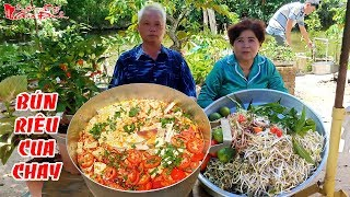 Ông Bà 5 Châu Đốc Chia sẻ Cách Nấu Bún Riêu Cua Chay Từ Đậu Nành Vị Miền Tây   NKGĐ