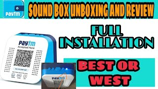 PAYTM SOUND BOX QR ACCEPT MONEY | SETUP PAYTM SOUND BOX | HOW TO USE SOUND BOX | UNBOXING AND REVIEW