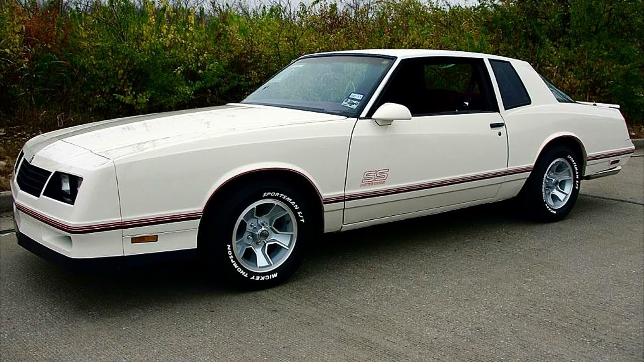 All Chevy 1988 chevrolet monte carlo ss for sale : 1987 Chevrolet Monte Carlo SS Aerocoupe - YouTube