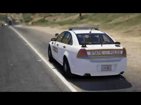 Grand Theft Auto V LSPDFR (Illinois State Police)