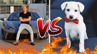 Picking Up Girls With A Ferrari VS With A Puppy EXPERIMENT!! streaming