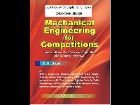 R.K.Jain, mechanical solution with explanation mechanics part 1