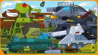 All series THREE SEASONS of Steel Monsters - Cartoons about tanks