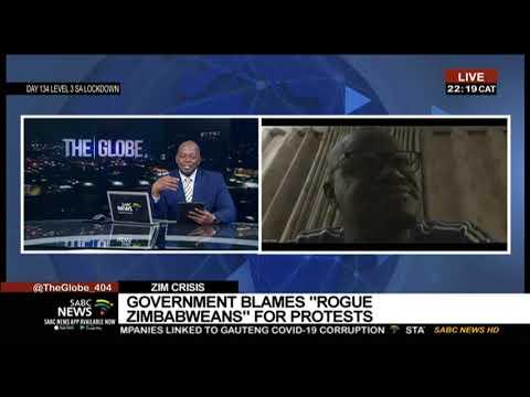Zimbabwe Crisis I Zanu-PF's Nick Mangwana speaks out