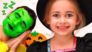 Ты все спишь Детская песня про Хэллоуин от Майи и Маши