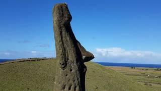 The Windy MOAI Hills of Rano Raraku Easter Island