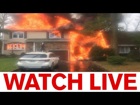 BREAKING: Plane crashes into home in New Jersey