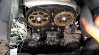 Opel Zafira ,Astra ,Corsa 1,6L(Z16YNG) Замена ремня ГРМ  Replacing the belt
