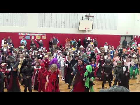 Halloween Bemus Point Elementary School 2017