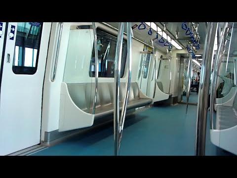 Bangalore Metro Ride - Byappanahalli to MG Road