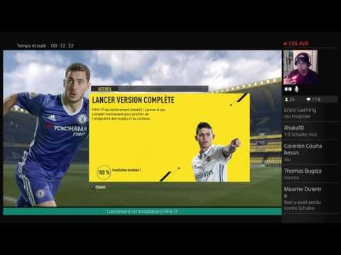 Lancement (et Installation) FIFA 17