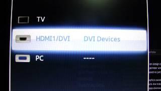 samsung led monitor syncmaster ta 550 tutorial