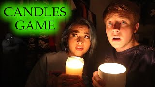PLAYING THE CANDLES GAME // 3 AM CHALLENGE