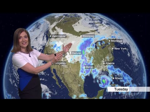 Extreme weather 2018 - Storms across the world (forecast) (Global) - BBC News - 8th September 2018